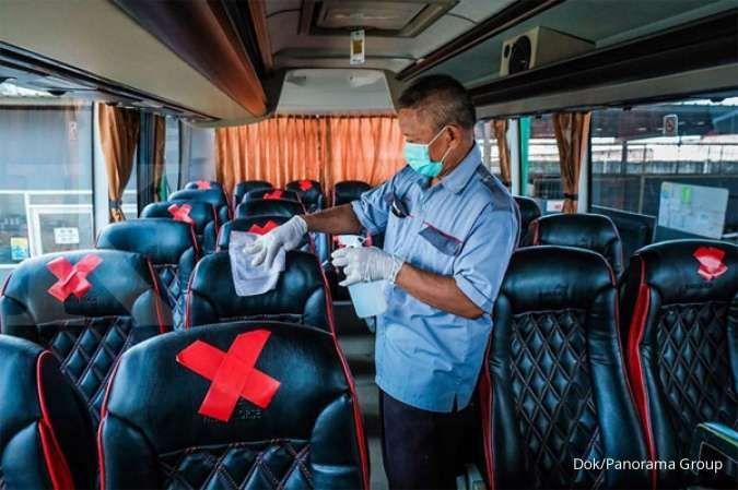 Aktivitas bisnis mulai berjalan, Panorama Group sewakan bus dengan protokol kesehatan