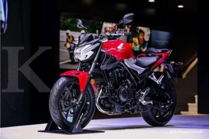 Motor Honda CB400F dan CB400X 2021