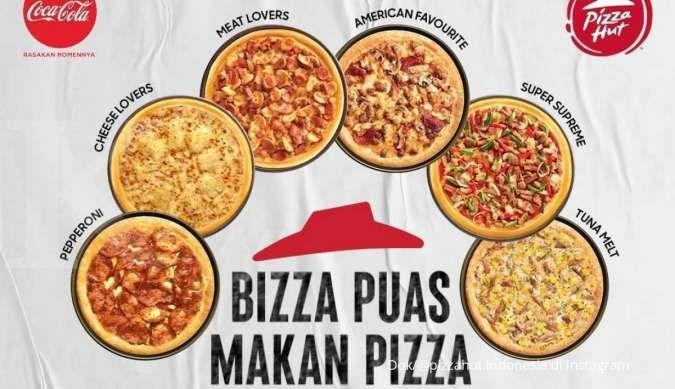 Promo Pizza Hut sampai 15 Oktober 2021, all you can eat dengan harga Rp 59.000