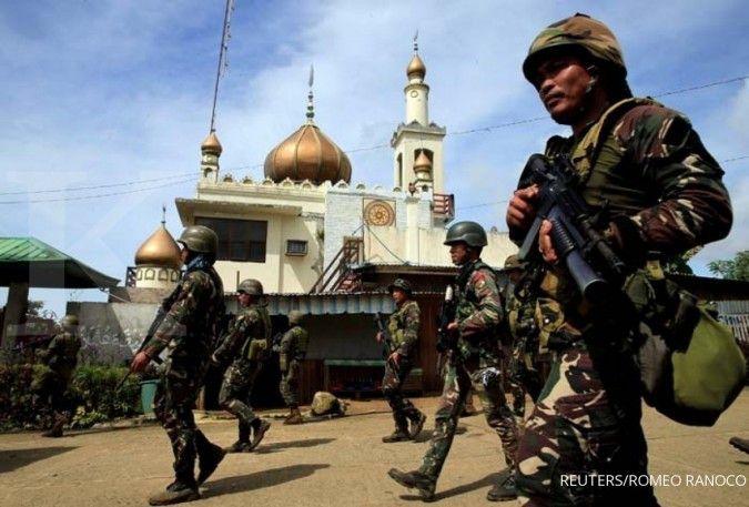 Di tengah ketegangan dengan China, Filipina dan Amerika gelar latihan militer