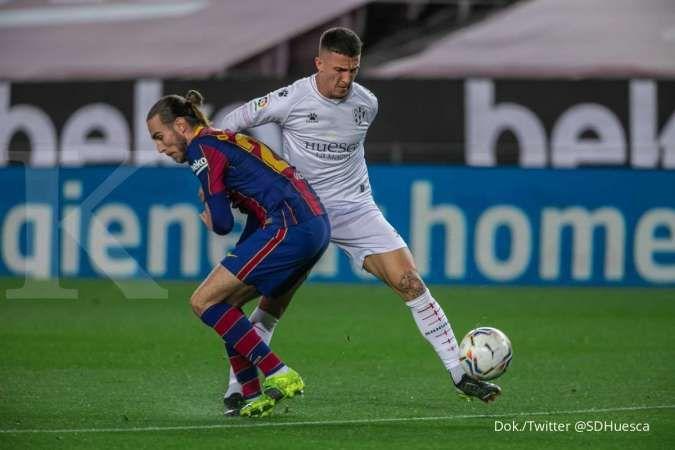 Hasil laga Barcelona vs Huesca di La liga Spanyol