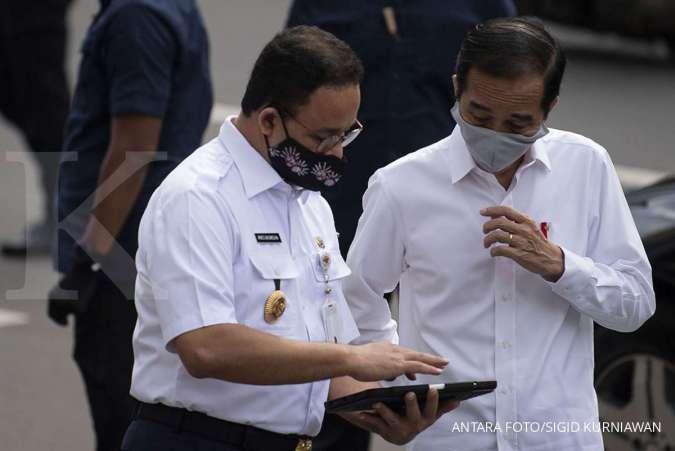 Anies: Saya sampaikan terima kasih ke Jokowi atas dukungan infrastruktur Jakarta