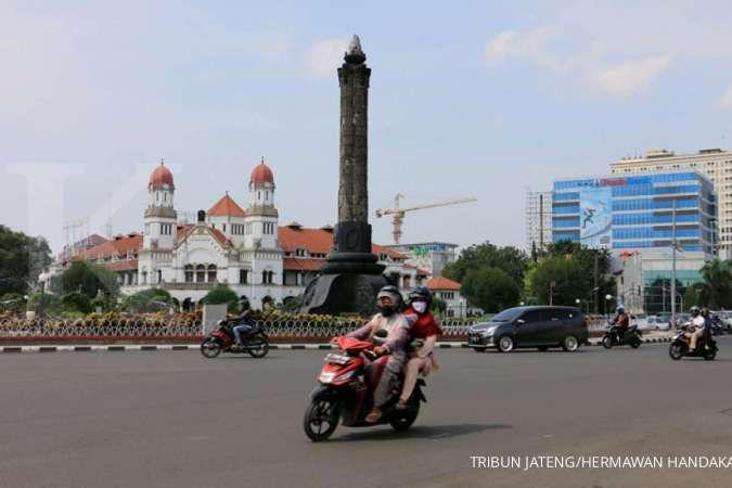 Zona merah virus corona di Jawa Tengah Rabu (22/7) tinggal terisisa tiga kota