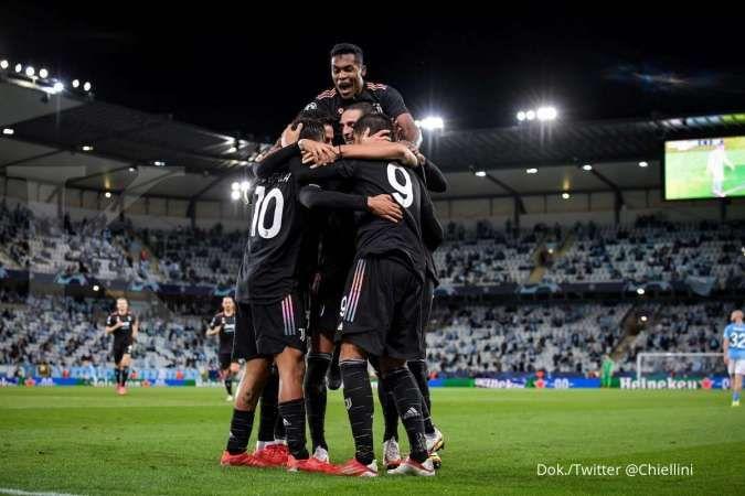 Hasil Liga Champions Malmo vs Juventus: Bianconeri bangkit, bekuk Di Blae 0-3