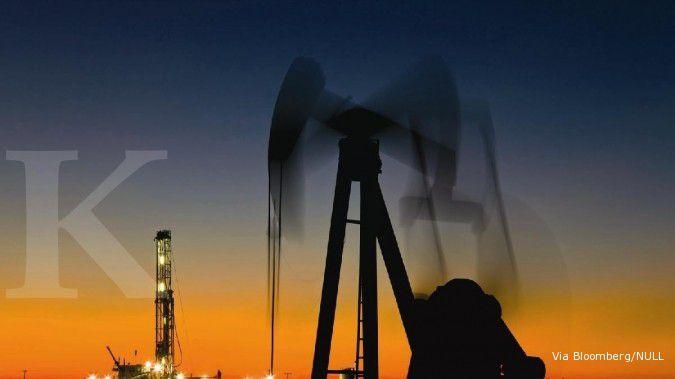 Pasca melaju ke atas US$ 34, minyak tak berkutik
