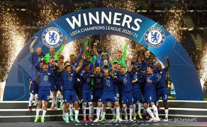 Man City vs Chelsea: Tundukkan The Citizens 0-1, The Blues raih gelar Liga Champions