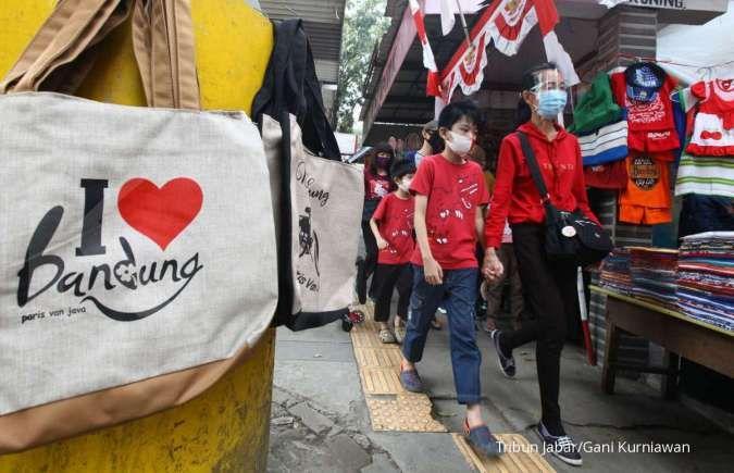 Jumlah pengunjung tempat wisata di Bandung melonjak saat libur panjang