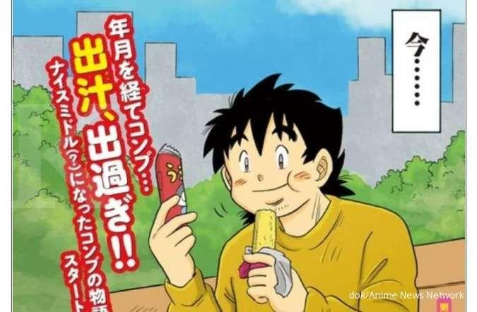 Hore! Manga Oh! My Konbu kembali hadir setelah 30 tahun