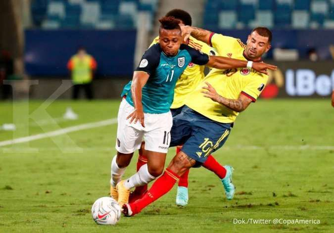 Hasil laga Kolombia vs Ekuador di Grup A Copa America 2021