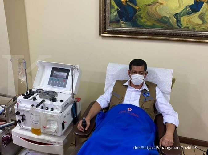 Doni Monardo: Setelah donor plasma konvelasen, tubuh menjadi lebih nyaman