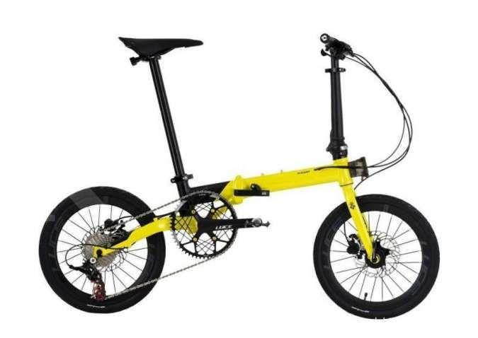 Tangguh dan handal, harga sepeda lipat Camp Hazy 11SP sedang didiskon