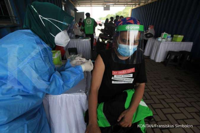 Lewat layanan Gomed, Gojek kolaborasi dengan Halodoc layani vaksinasi drive thru
