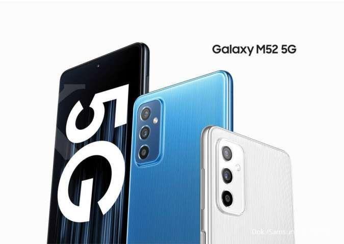 HP Samsung M52 5G siap meluncur di Indonesia, ini harga dan spesifikasinya