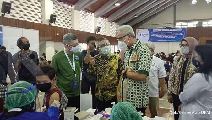 Percepat vaksinasi, KemenkopUKM upayakan vaksinasi bagi 150.000 UMKM di Jateng