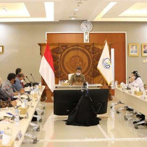 Menteri Trenggono Bertemu Stakeholder Udang Nasional Bahas Upaya Peningkatan Kinerja Ekspor