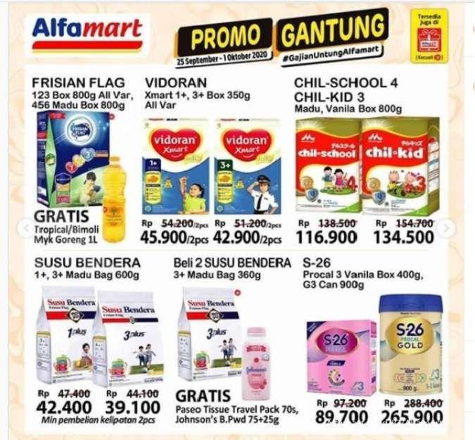 Promo Alfamart weekday hari ini 27 September 2020