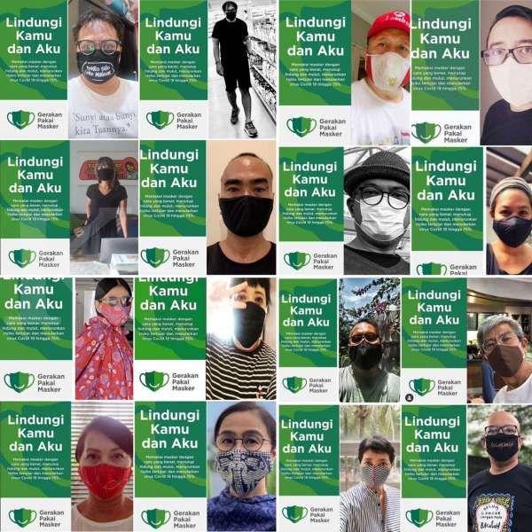 Gerakan Pakai Masker menyasar ratusan pasar tradisional di Indonesia