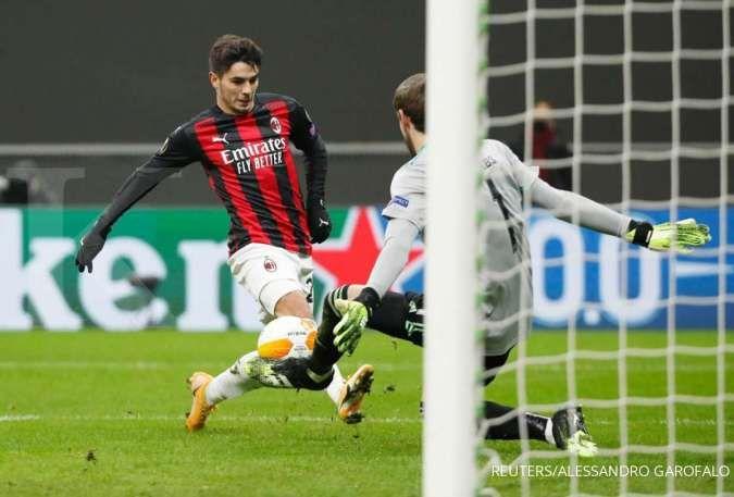 Brahim Diaz jelang laga AC Milan vs Atalanta di Liga Italia Serie A