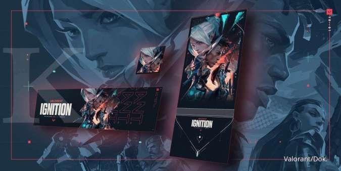 Riot Games bagi-bagi hadiah buat player Valorant, login & cek inventory sekarang!