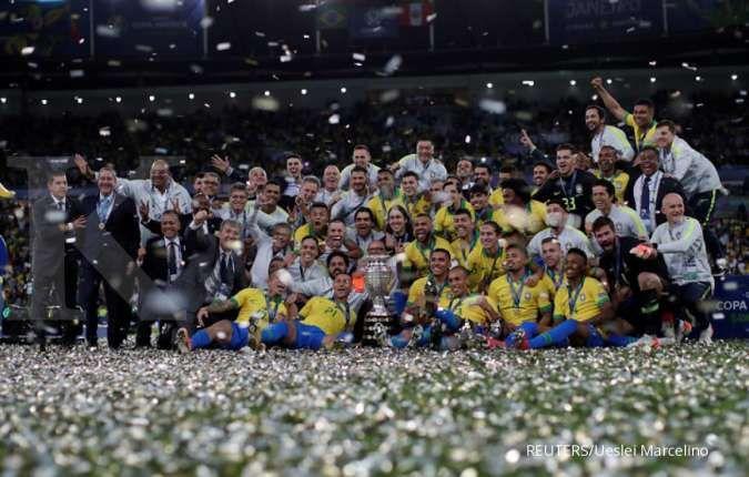 Gara-gara virus corona, Copa America juga mundur ke tahun depan