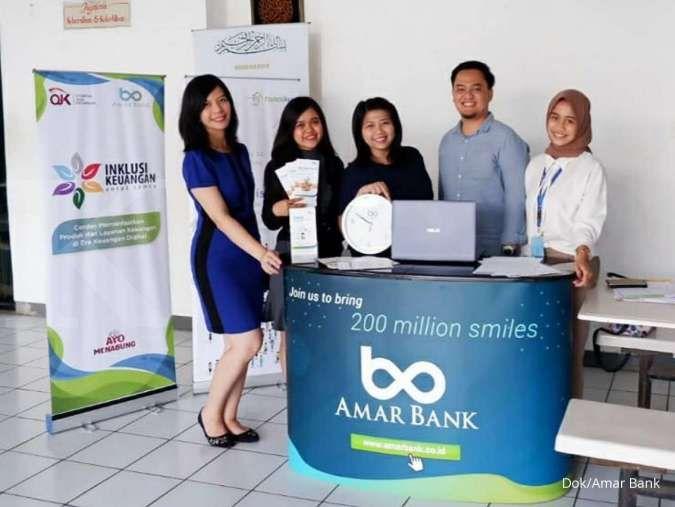 Bank Amar (AMAR) bukukan laba bersih Rp 2 miliar pada kuartal kedua 2021