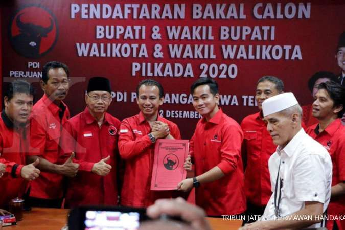 Anak sulung Jokowi yang akan diusung PDI-P di Pilwalkot Solo 2020?