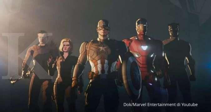 Black Panther gabung Black Widow dan Iron Man di What If, segera tayang di Disney+