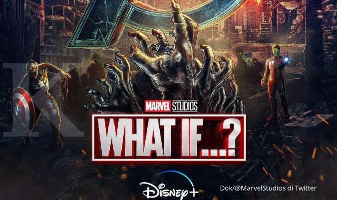 Poster promosi serial TV What If...? di Disney+.