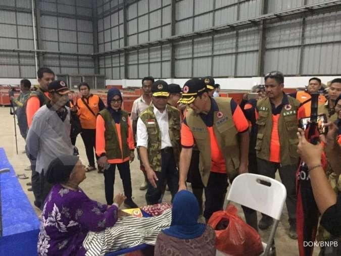 BNPB serahkan dana sebesar Rp 2,3 miliar untuk penanggulangan bencana