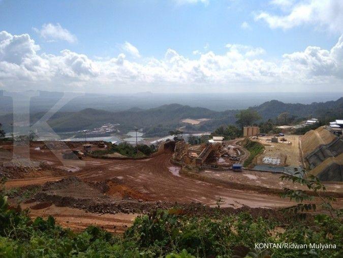 Tahun ini, lelang wilayah tambang masih menunggu aturan turunan UU Minerba baru