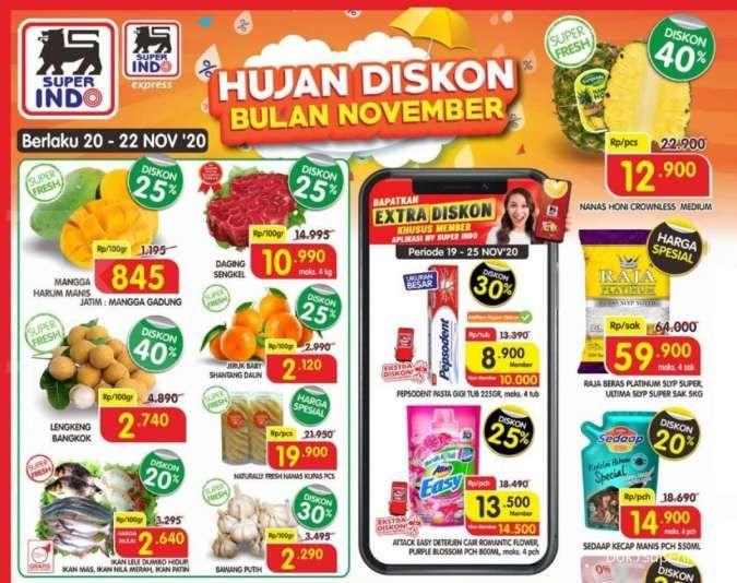 Promo Superindo Hari Ini 21 November 2020 Diskonan Weekend