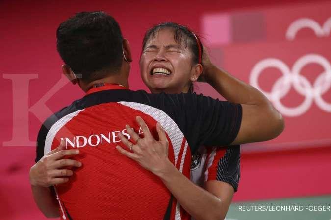 Hasil Badminton Olimpiade Tokyo 2020: Medali emas untuk Greysia/Apriyani