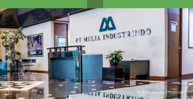 Kinerja moncer, pendapatan Mulia Industrindo (MLIA) sudah 50% dari target tahun ini