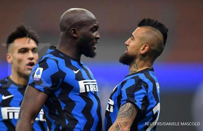 Romelu Lukaku jadi target Chelsea dari Inter Milan