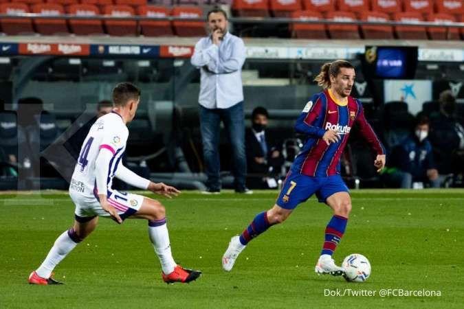 Barcelona vs Real Valladolid di Liga Spanyol: Blaugrana tekuk 10 pemain Pucela 1-0