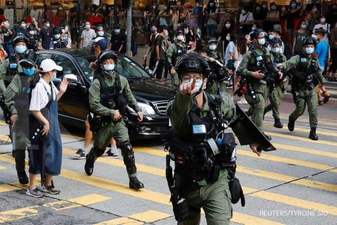 Aktivis Hong Kong ditangkap jelang peringatan peristiwa Tiananmen