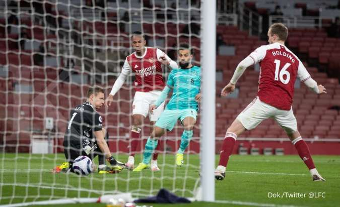 Arsenal vs Liverpool di Liga Inggris: Menang 0-3, The Reds kejutkan The Gunners