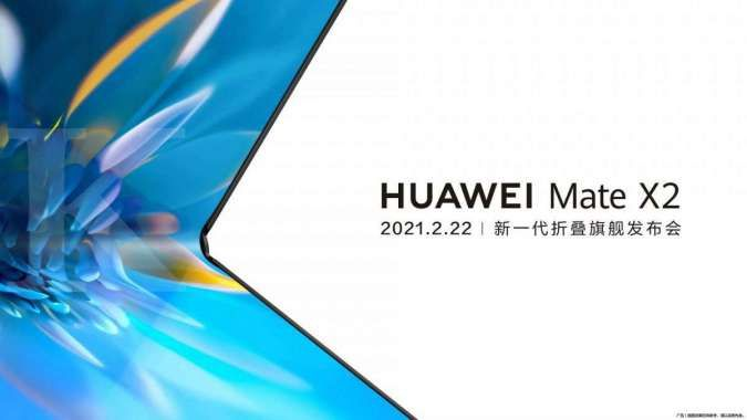 Huawei Mate X2 bakal meluncur 22 Februari, berikut bocoran spesifikasinya