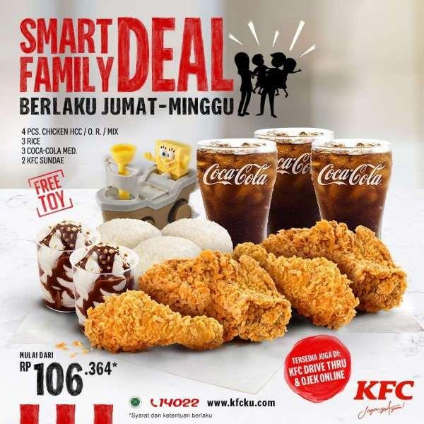 Promo KFC 'Smart Family Deal'