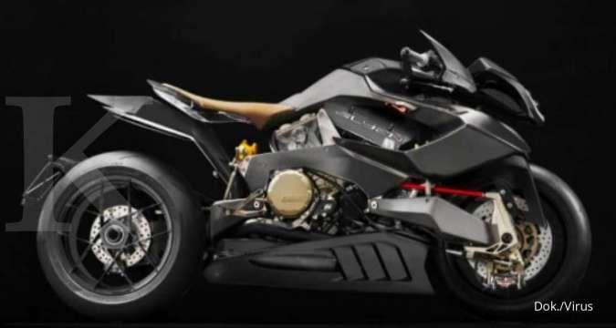 Virus Alyen 988, sepeda motor termahal di dunia