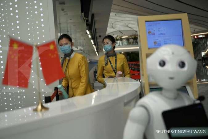 Perusahaan teknologi di China gotong royong melawan virus corona