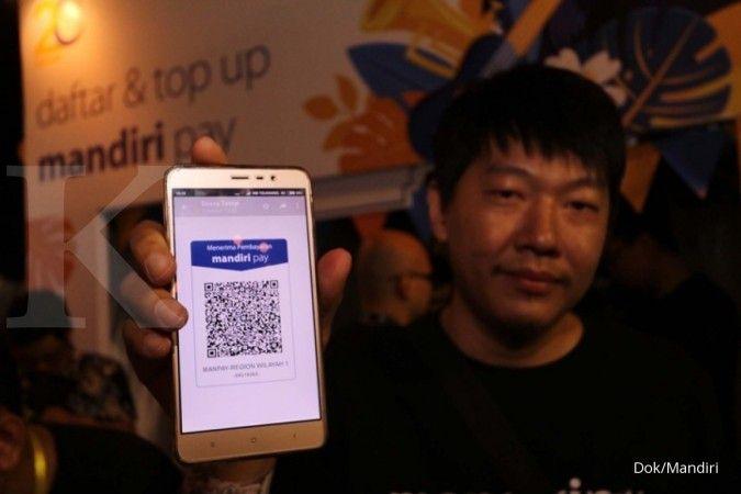 Himbara menyebut platform QR code milik bank pelat merah akan melebur ke LinkAja