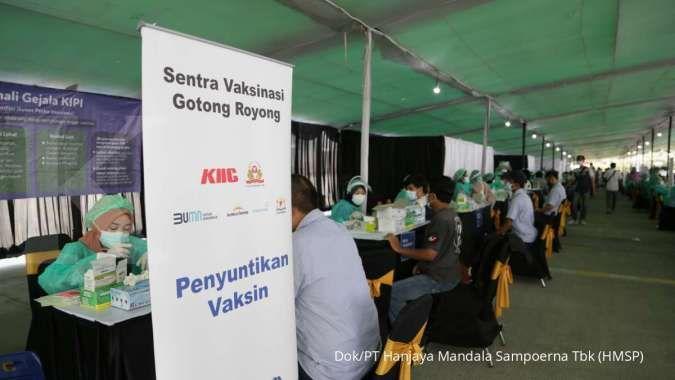 HM Sampoerna klaim telah vaksinasi karyawan di pabrik Karawang