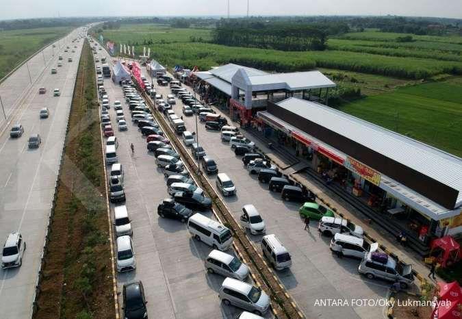 Arus balik, rest area sepanjang Tol Cikampek arah Jakarta ditutup