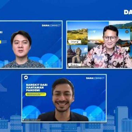 Menparekraf Dorong Dana Menjadi Lokomotif Dalam Upaya Digitalisasi UMKM