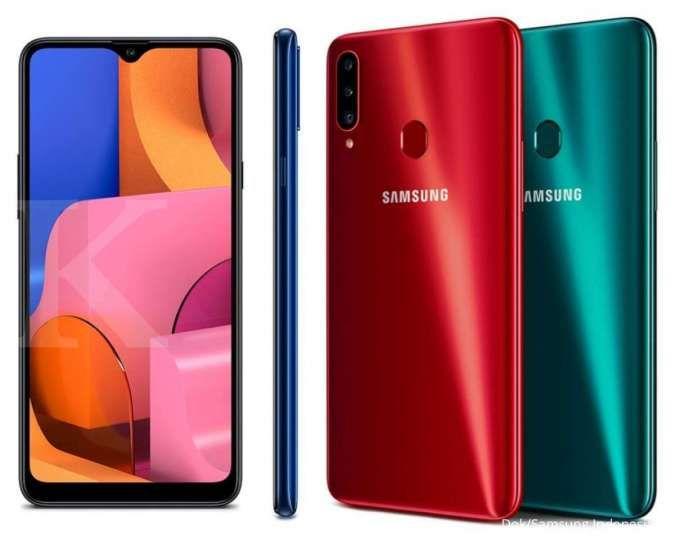 Spesifikasi dan harga HP Samsung A20s