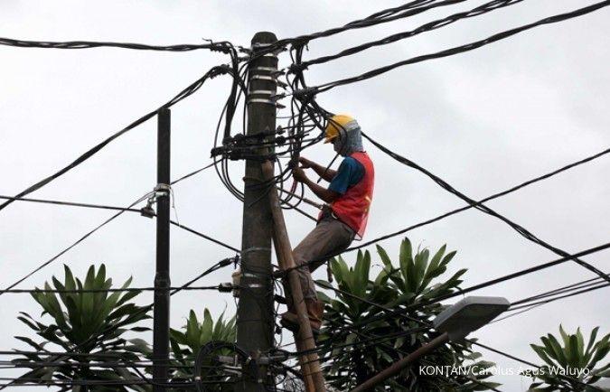 Listrik di sejumlah wilayah di Jakarta dan sekitarnya padam