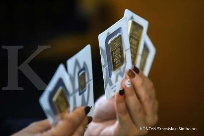 Turun Rp 2.000, simak daftar lengkap emas Antam untuk siang ini (12/10)