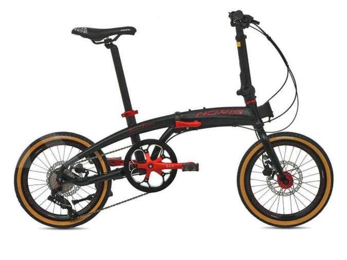 Baru dan unik, harga sepeda lipat Pacific Noris Batik pas di kantong