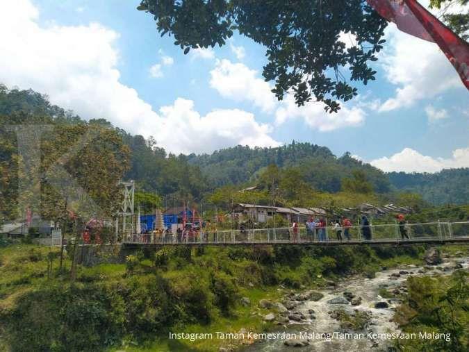 Taman Kemesraan, tempat wisata teranyar dengan nuansa khas Jawa di Malang